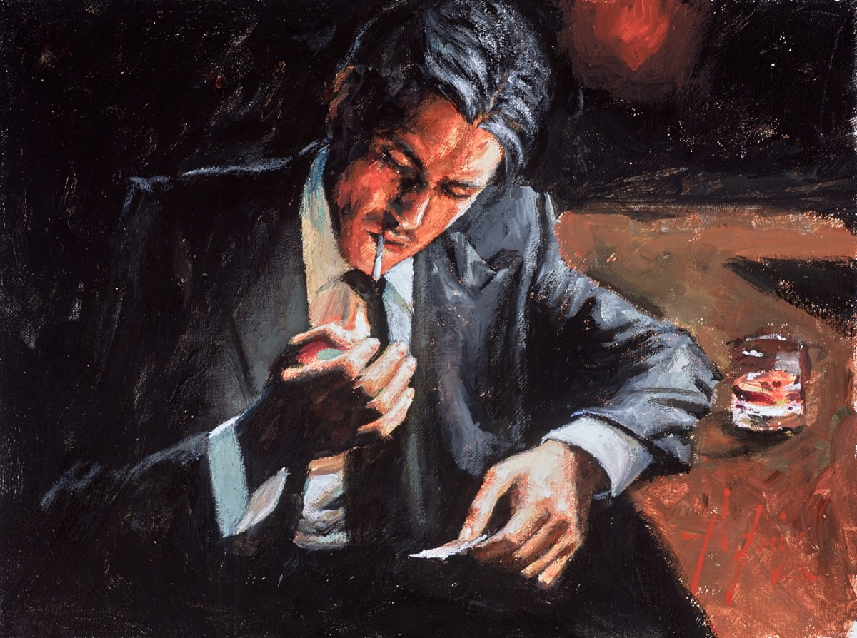 Study for Proud to Be a Man (Cigarette)